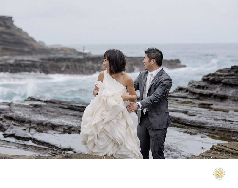 Hanalei Bay, Kauai - Wedding Photogarpher
