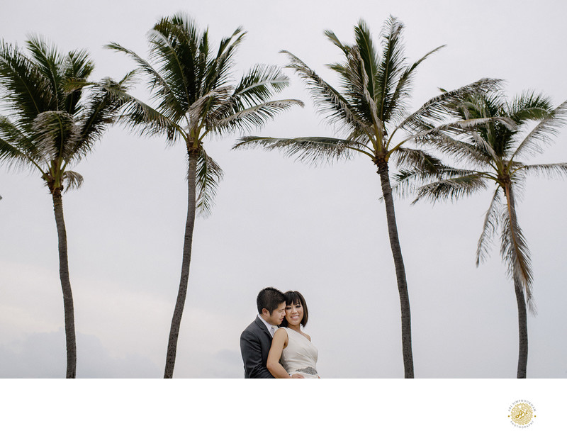 Makua Beach, Kauai Wedding Photographer