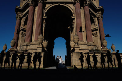 Palace of Fine Arts Wedding Photos