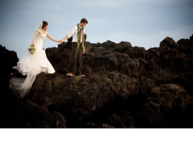Destination Wedding Photographer Maui Hawaii