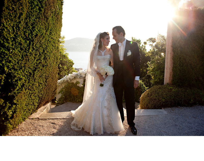 Best Destination Wedding Portrait French Riviera Monaco