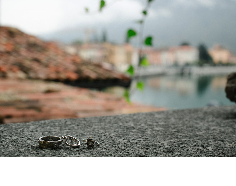 Destination Wedding Ring, Italy