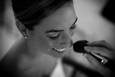 Bride Getting Ready Highlands NC