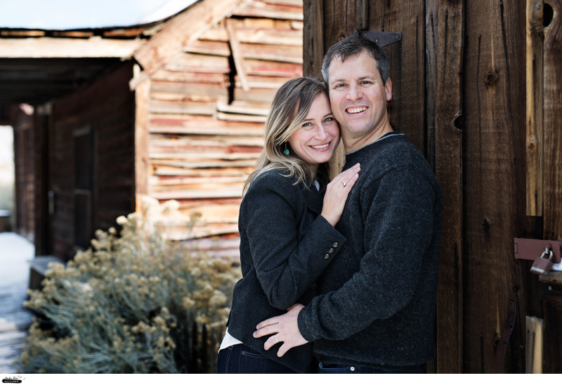 Bartley Ranch couples engagement session