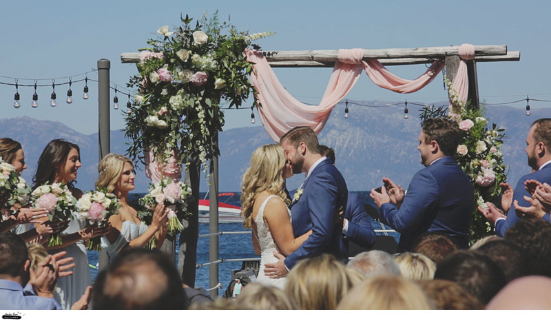 Lake Tahoe West Shore Cafe Wedding Videographer