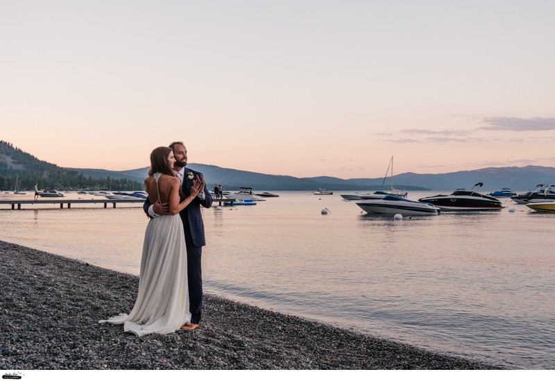 Luxurious Tahoe Wedding Films Cinematographer Team Reno
