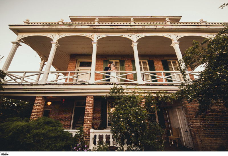 Mackay Mansion Wedding Virginia City