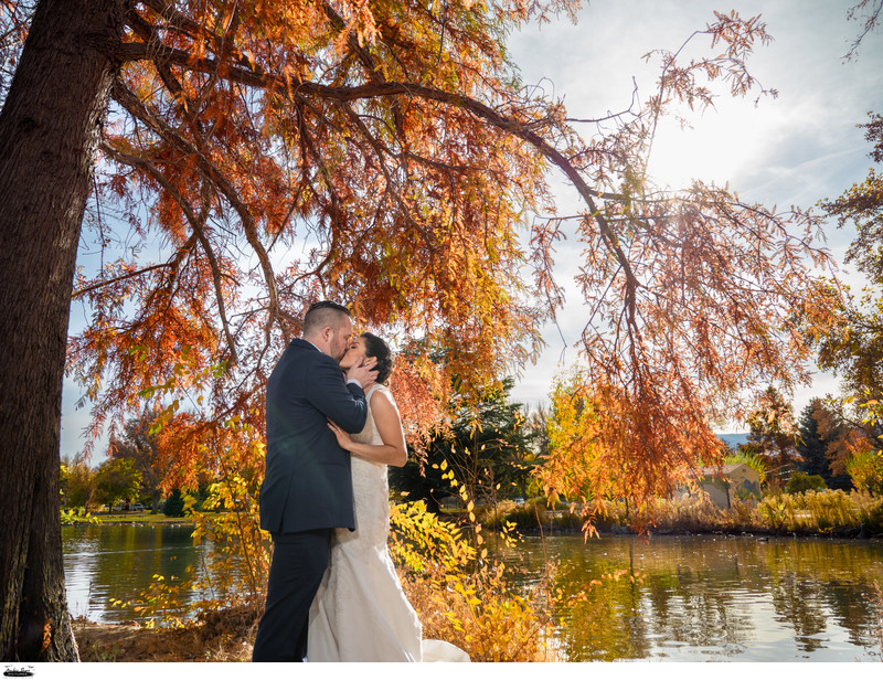 Reno Wedding at Idlewild Park California Building