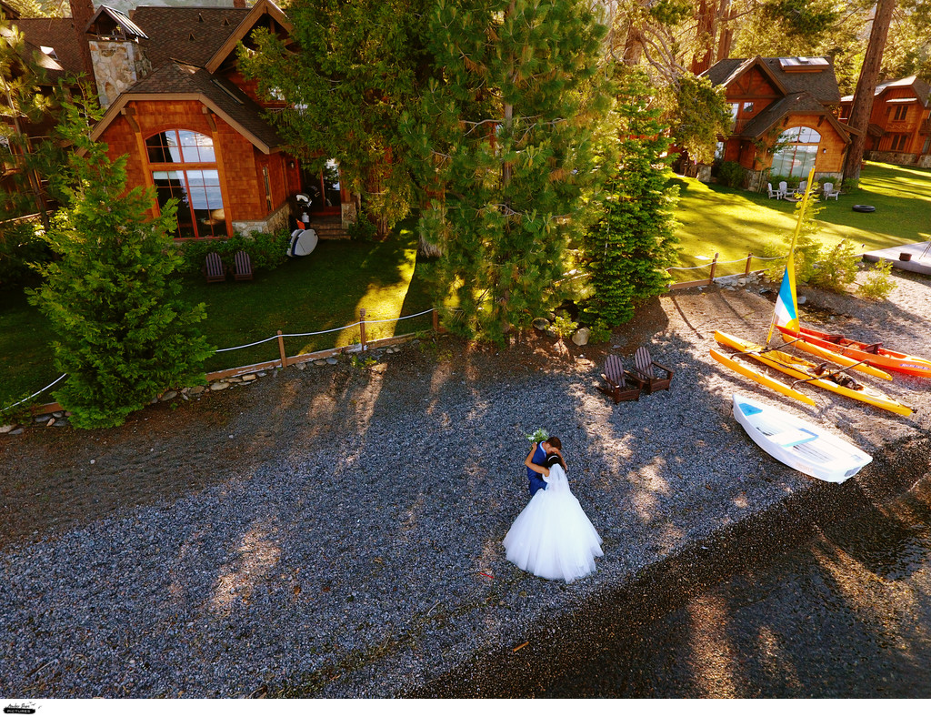 Aerial Wedding Photography Cinematic Videography Tahoe