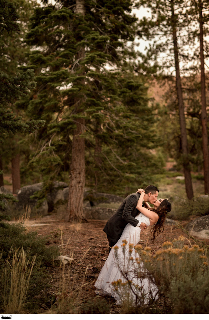 Tahoe wedding photographers Elopement Small Wedding