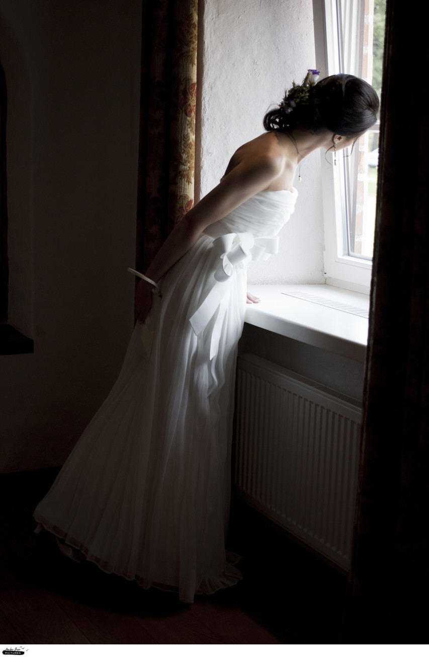 Elegant Bridal Portrait International Weddings Europe