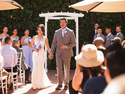 Wedding Ceremony at Sacramento Vizcaya Downtown Venue