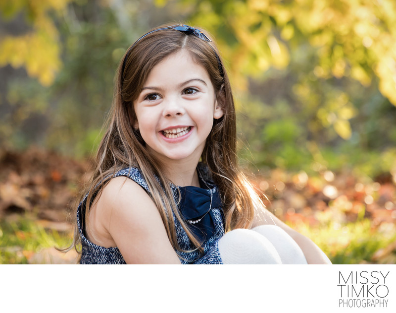 Fall Child Outdoor Photography Session