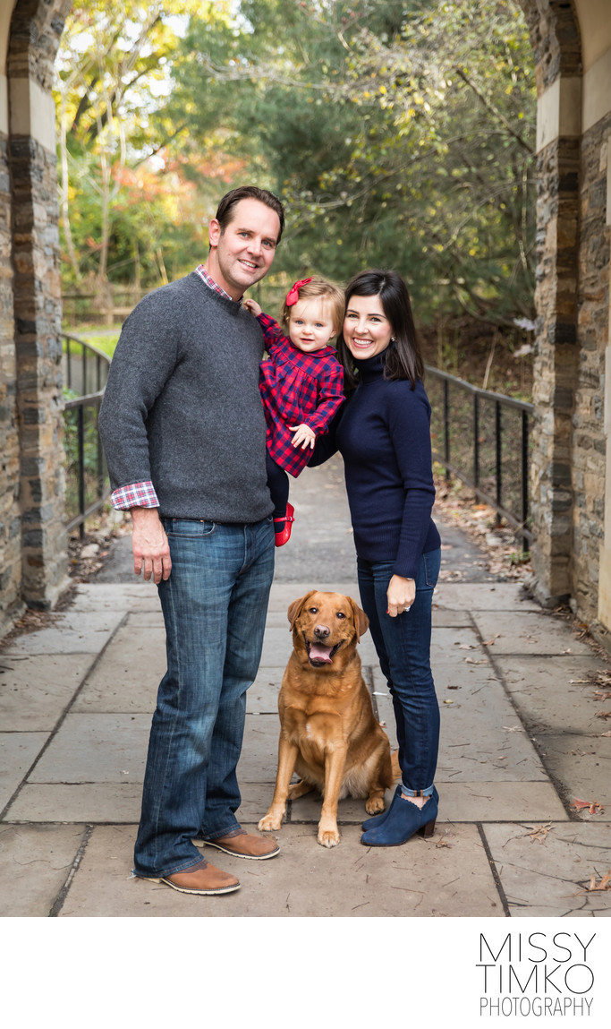 Family Including Dog Photographer Pittsburgh