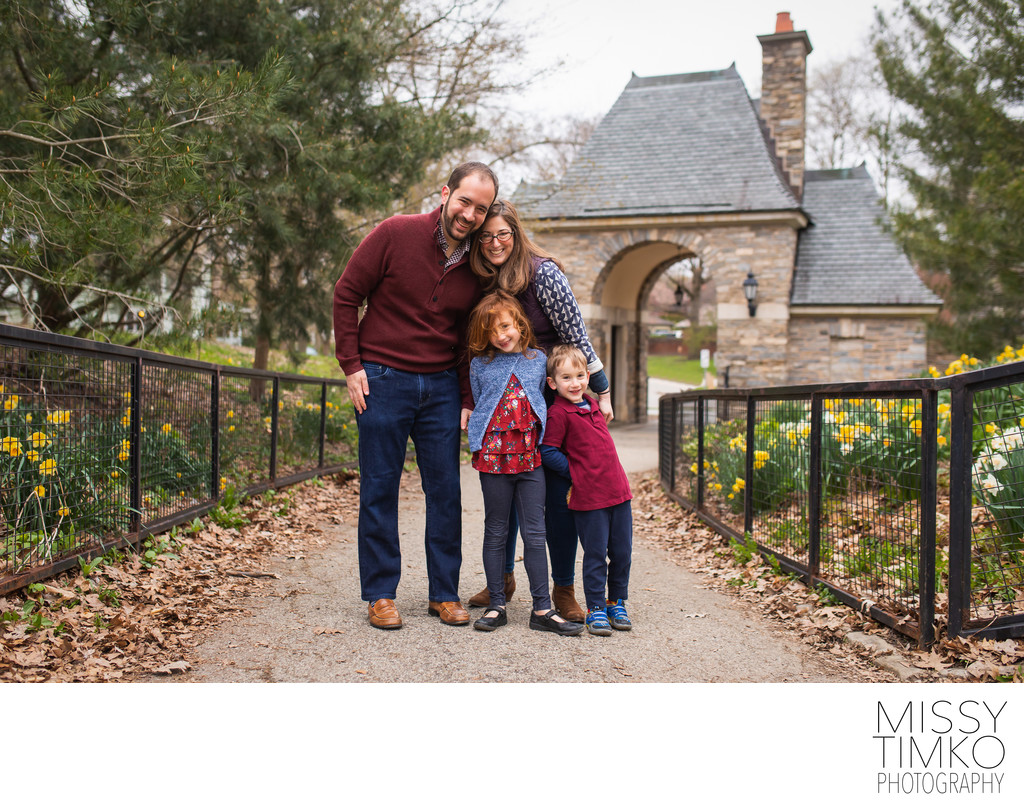 Fall Outdoor Family Portraits Pittsburgh