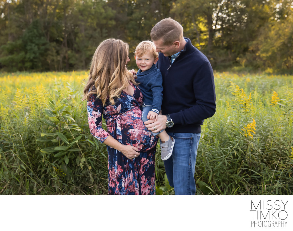 Outdoor Maternity and Family Photography by Missy Timko