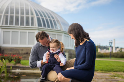 Family Portrait Photography Phipps Conservatory