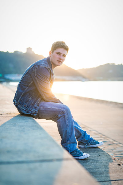 Senior Photography, Point State Park Pittsburgh