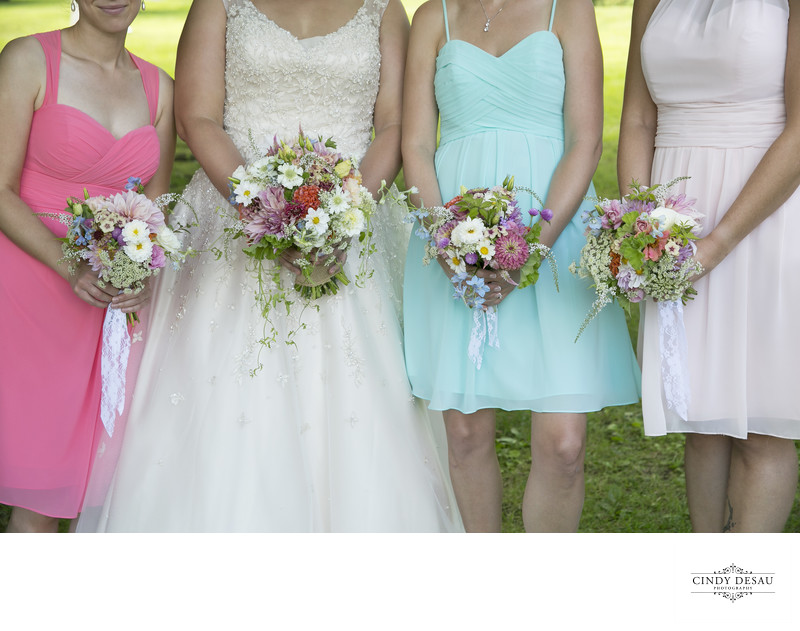 Same Sex Wedding in New Hope Bouquet Photo