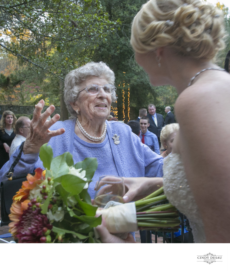 This Wedding Photo Shows a Grandmother's Love