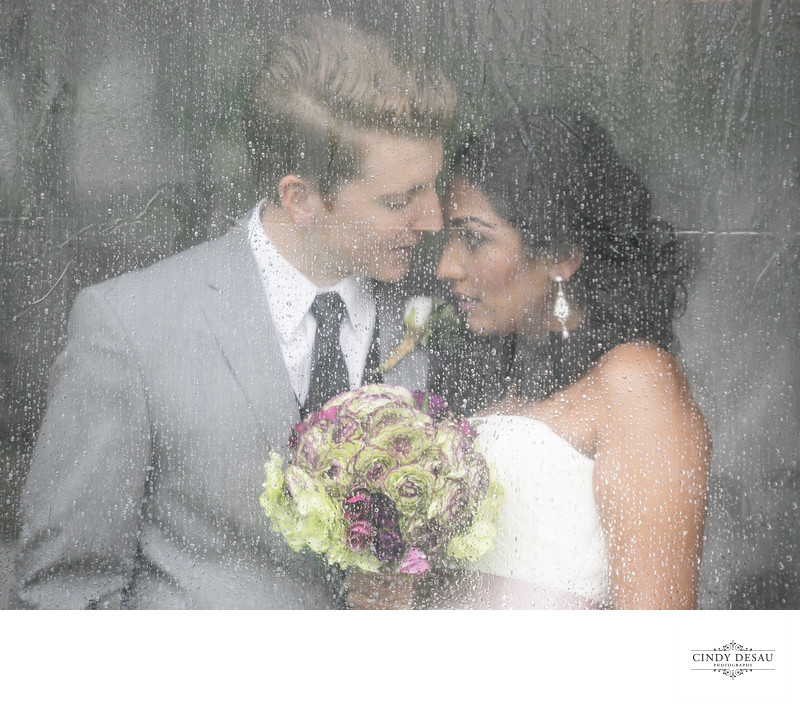 Brides Freak When It Rains on Their Wedding Day: Not This One!