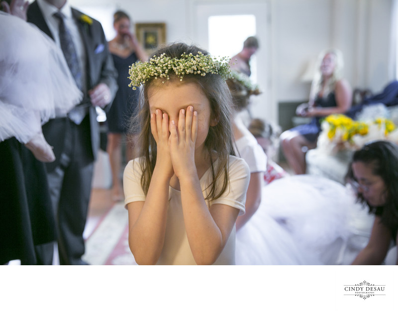 The Wedding Day Suspense is Killing this Flower Girl!