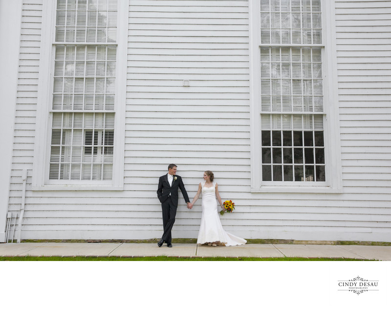 Cranbury United Methodist Church Wedding Photograph