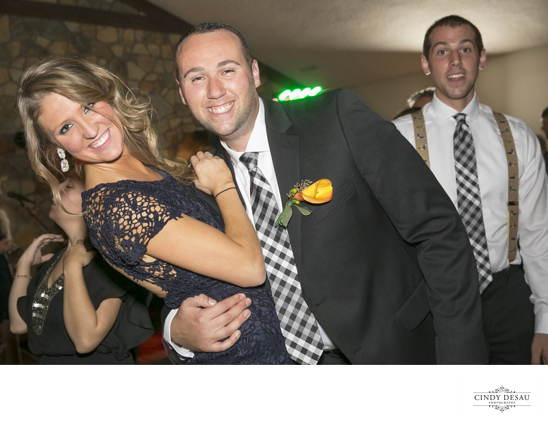 Different Bridal Party Dance at Holly Hedge Photo