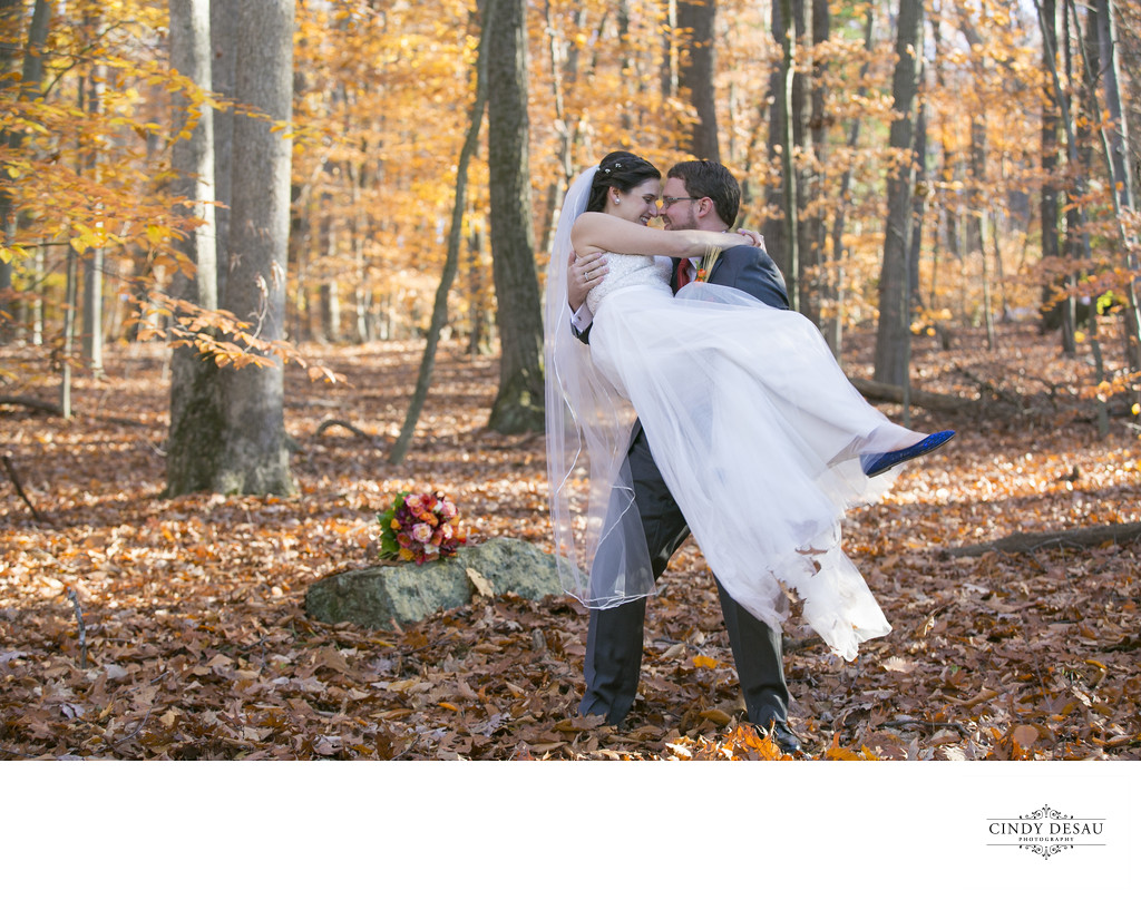 This is Why Couples Love Fall Weddings Photo