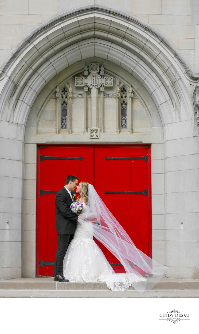 Muhlenberg College Chapel Wedding Photographer