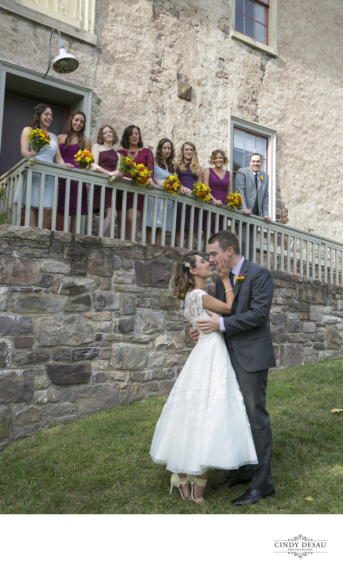 Prallsville Mills Wedding and Bridal Party