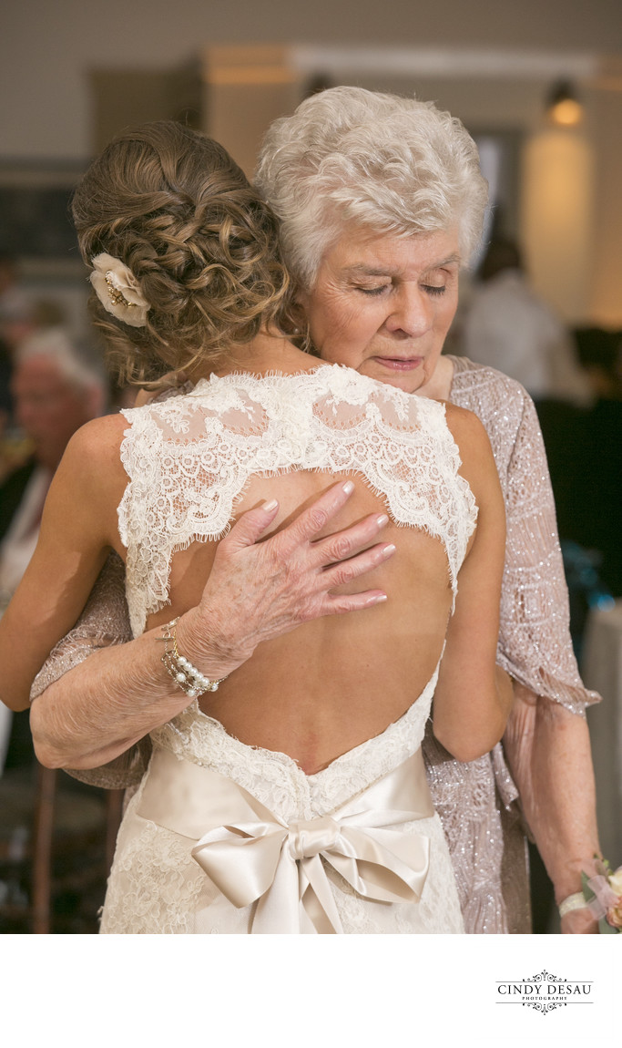 Tender Bridal Dance with Grandmother Photograph