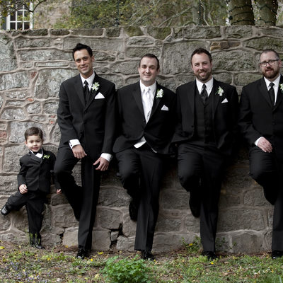 This is What Happens When the Ring Bearer Copies the Groomsmen