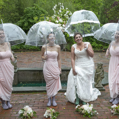 Why Rain Will Enhance Wedding Photos in New Hope Photo