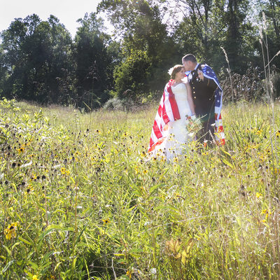 Military Wedding Photographer in New Hope