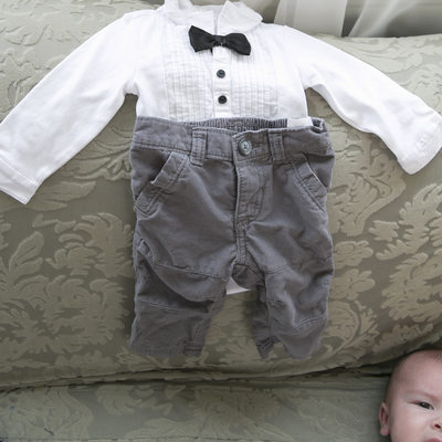Cute Baby and Ring Bearer Outfit