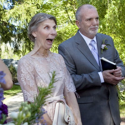 Ecstatic Mother of the Bride Photo