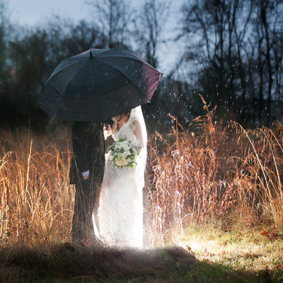 Why Rain Won't Ruin Your Wedding Photos!