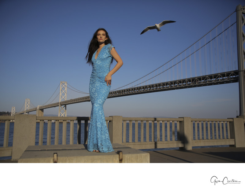San Francisco Engagement Photo Shoot  stunning Bride
