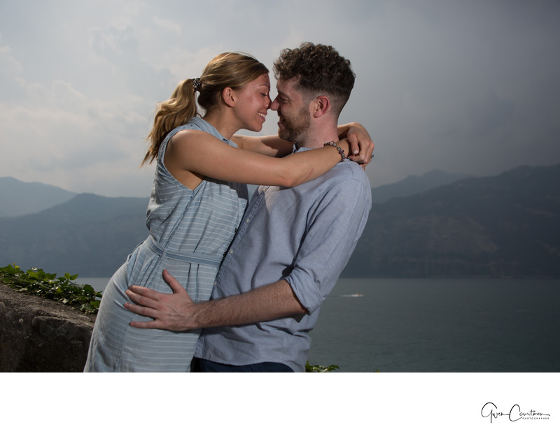 Romantic Lake Garda Photo Shoot, Malcesine, Italy.