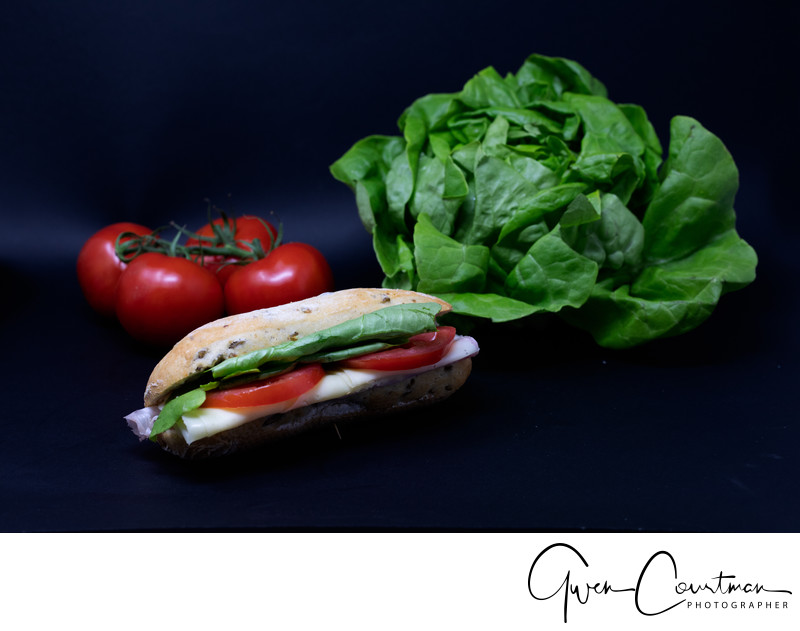 Studio Food Photographer in Italy.