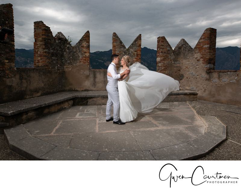 Emma and Darren, Lake Garda Wedding, Lake Garda.