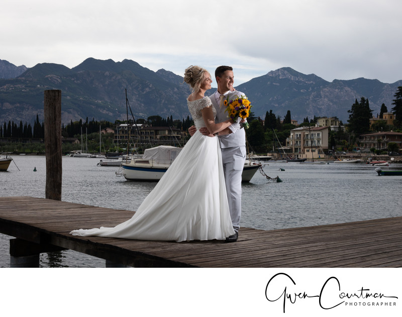 Emma and Darren, Lake Garda Weddings, Lake Garda.