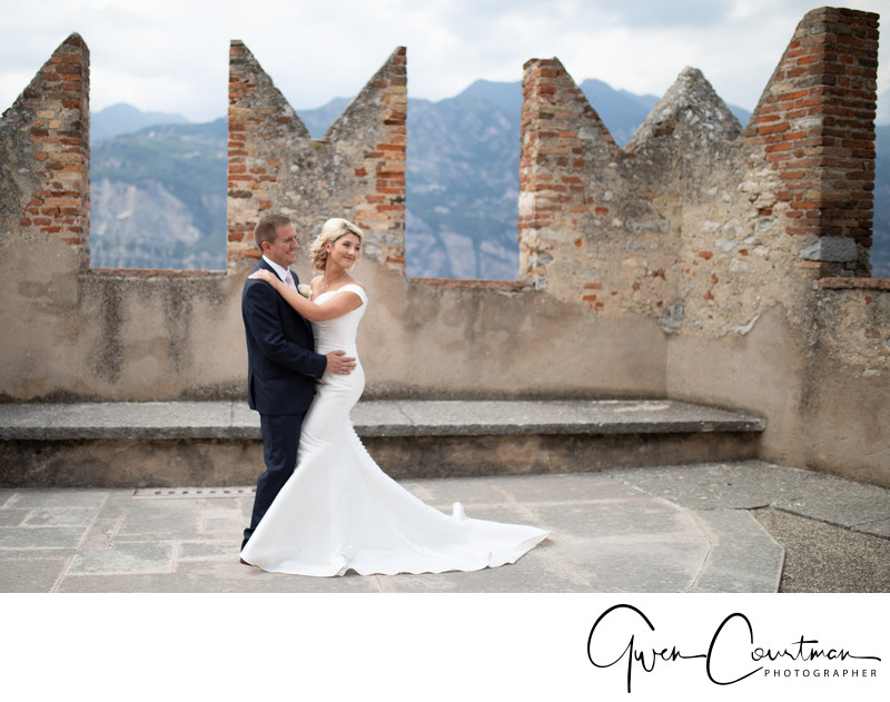 Malcesine Castle Destination Wedding Photographer