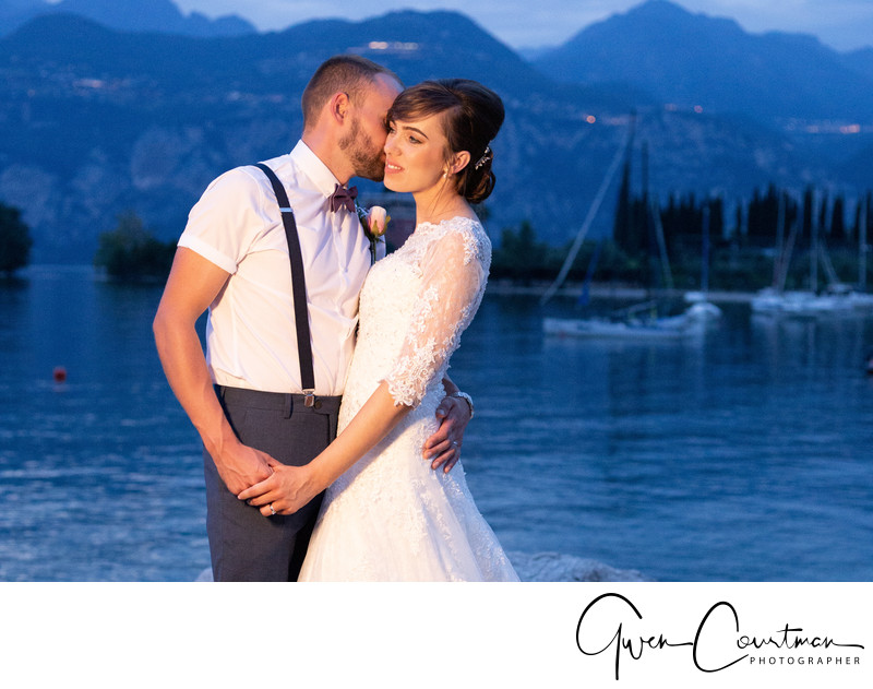 British Wedding Photographer In Malcesine