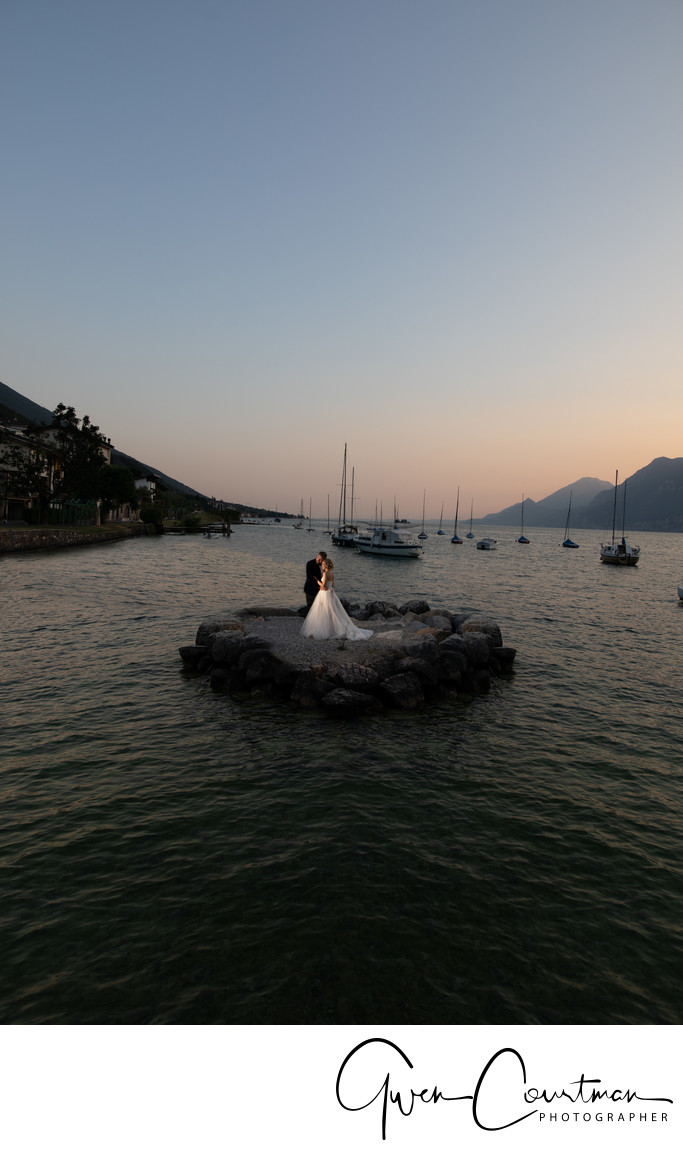 Perfect wedding photos in Italy.