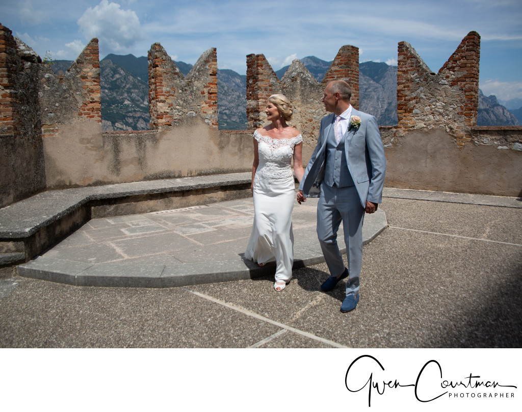 Romantic weddings for mature couples in Italy.