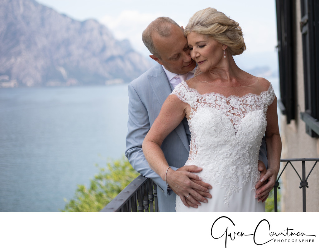 High Romance wedding photography in Italy.