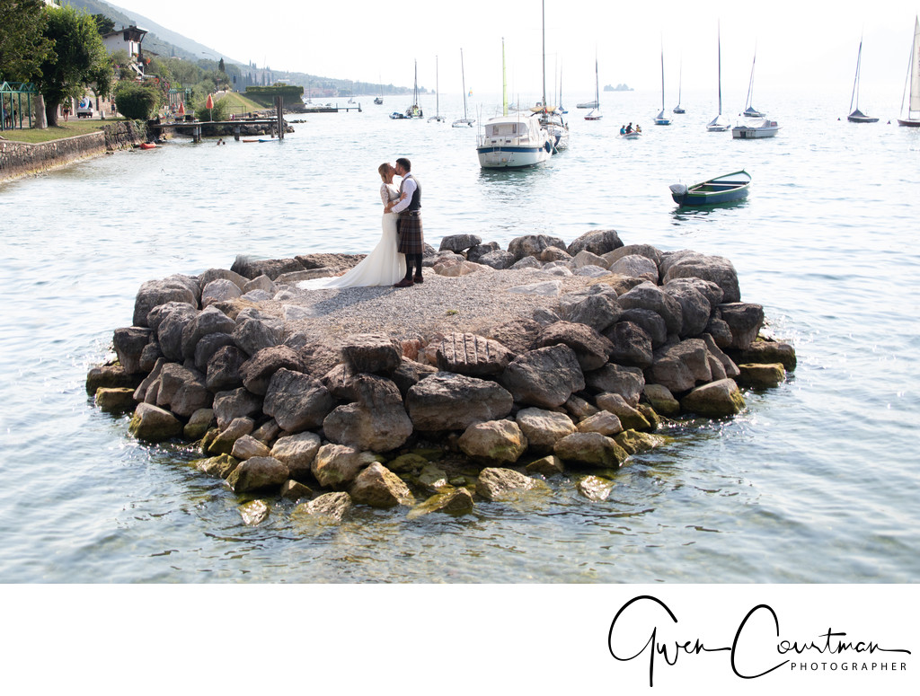 La Voglia Restaurant Beach Wedding Island.