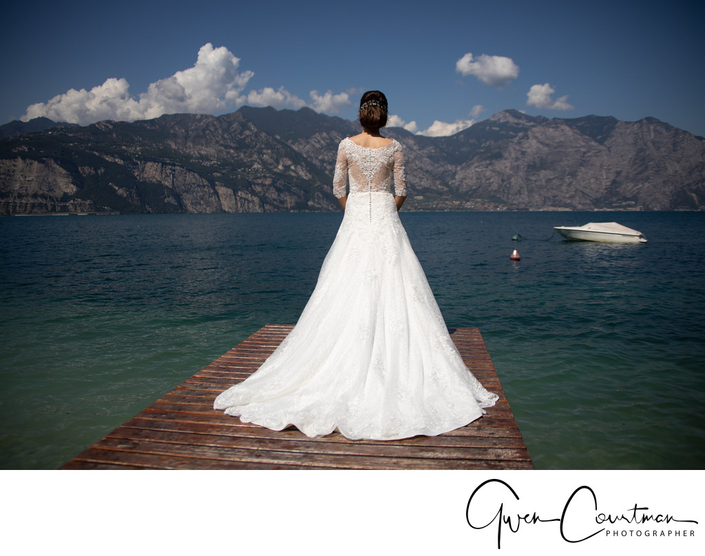 Wedding photos Hotel Castello Malcesine Beach